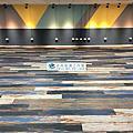2018/2/8竹南電子公司健身房新潮流木紋地板(使用ARTLINE DW1012為導角木紋)