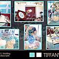 【婚禮花藝佈置】TIFFANY愛戀--頂鮮101餐廳