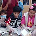 2014-12-24右昌區幼兒排感恩餐會。
