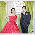 [台中婚攝] 仕杰&慧玲Wedding~聖華宮蔬食餐廳