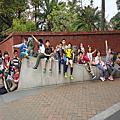 好漢坡、中正紀念堂跑步、孔廟、介壽公園跑跳、拚豆-通路