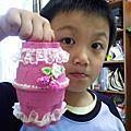 """20140509 """"母親歡樂筒""""禮物製作"""