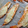 鹽焗蝦 焗烤起士蝦