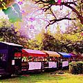 台南‧十鼓文化村 仁德糖廠文創園區 、竹崎親水公園萬竹博覽館