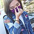 2019年度新色-炫霓紫 ~ 怪美來襲 時尚配件口罩必備-CSD中衛時尚口罩!!