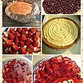 甜蜜媽咪玩粉味-派,塔,甜點-草莓派