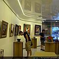 文化大學皮雕聯展佈展情況