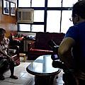 協助基隆社大影像紀錄社拍攝台灣故事島活動