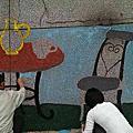 103.04.23-基隆市中正區團委會-第1次彩繪鑲貼美化活動
