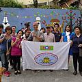 103.11.06--基隆市中正區團委會-第二階段長潭社區美化彩繪活動