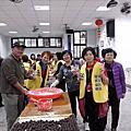 104年3月5日協辦碇安社區發展協會搓元宵鬧元宵活動