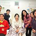 104.03.22探望生病住院的義工伙伴王月琴