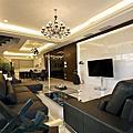 黑白畫映,極緻空間的奢華品味