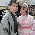 2012/4/10 JR PASS,跟著櫻花去旅行~Day8 岡本織物和服體驗