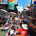 2011/8/29~9/2 很多背包客的考山路&原來也可以塞船的水上市