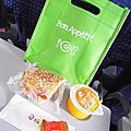 復興航空石垣島航線機上餐