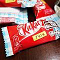 KitKat巧克力-燒布丁。キットカット ミニ 焼いておいしいプリン味