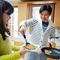 2015首爾小旅行。去韓國人家體驗做韓式料理 XD