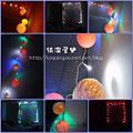 20101223 DIY棉線球燈串