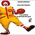 麥當勞美女月曆
