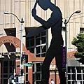 【美國】西雅圖。榔頭工人