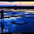 2010_08_26 北門鹽田 夕陽