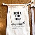 Traveler's Factory 筆記本專用束口袋 - 飛機