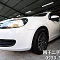 09' VW GOLF 1.6 白色升級原廠多功能影音