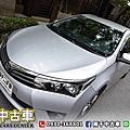 2014年 Toyota Altis 1.8 銀經典代步車、定速巡航
