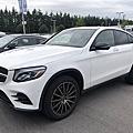 2017年 M-Benz GLC300 Coupe 4Matic#614白稀有夜色套件、豪華內裝套件