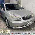 2007年 TOYOTA Altis 1.8E 銀  HID、一手車