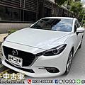 2016年 Mazda 3 5D 2.0 白 魂動、六安、跑兩萬公里