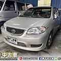 2004年 TOYOTA VIOS 1.5 銀 省油代步車