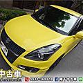 2012年 SUZUKI SWIFT SPORT 1.6 淺黃 I-KEY、換檔撥片