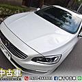 2016年 VOLVO S60 D4 2.0 白 柴油旗艦、自動跟車