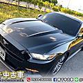 2017年 Ford Mustang 2.3 黑 EcoBoost渦輪增壓、SYNC3娛樂通訊整合