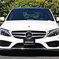 2016年 M-BENZ C300 Sedan AMG CPO 鑽石白 23P智慧駕駛、香氛套件、全景天窗