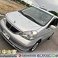 2005年 Nissan Serena QRV 2.0 銀 旗艦型、滑門、按摩椅