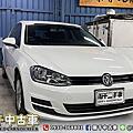 2015年 Volkswagen Golf 1.2 白 七安、AUTO HOLD、電子駐車