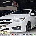 2016年 Honda City 1.5 VTi-S 白 六安、循跡、大螢幕