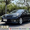 2012年 Toyota Corolla Altis 2.0Z 黑 大螢幕、換檔撥片、天窗