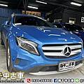 2016年 M-Benz GLA-Class GLA180 藍 電動尾門、大螢幕、前後雷達