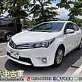2015年 Toyota Corolla Altis 1.8 白 恆溫、定速、跑五萬公里