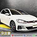2020年 Volkswagen Golf GTI Performance 白 德製鋼砲、新車保固中