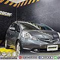 2009年 Honda Fit 1.5 VTi 灰 換檔撥片、胎壓偵測、大螢幕