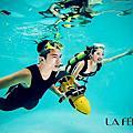水中攝影-情侶照
