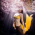 水中攝影-美人魚