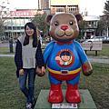 台中--老陳咖啡館&2013泰迪熊台中樂活嘉年華&赤鬼牛排