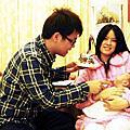 2011年12月17日鈺銘出生第40天-湘庭補慶生