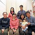 2012年1月25日鈺銘出生第79天-三代同堂全家福